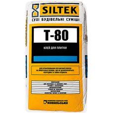 Клей для плитки Siltek Т- 80