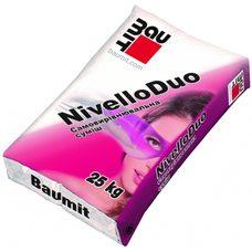 Baumit Nivello Duo самовыравнивающая смесь 2-20мм, 25кг
