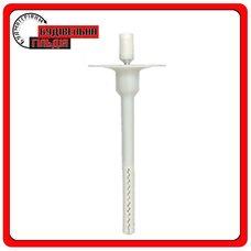 Дюбель для крепления теплоизоляции с металлическим стержнем и удлиненный термоголовою ATI/TZE