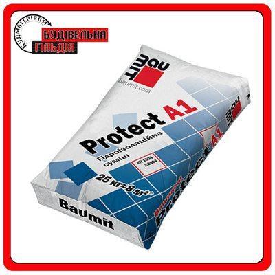 Baumit Protect 1A минеральная гидроизоляционная смесь, 25 кг