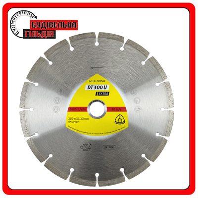 Алмазные тарельчатые круги для угловых шлифмашинок для строительных материалов, Бетона, черепицы, DT 310 UT Extra