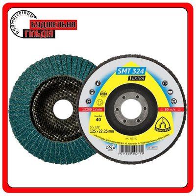 Лепестковые тарелочные круги для Нержавеющей стали, Стали, SMT 324 Extra