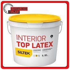 Краска латексная стойкая к мытью Siltek Interior Top Latex База А, 9л