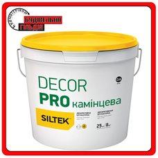 Штукатурка декоративная, камешковая 1,5 мм, Siltek Decor Pro, 25кг