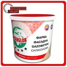 Краска фасадная GAZOBETON СИЛИКОНОВАЯ Anserglob, 14кг