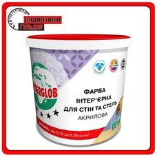 Краска интерьерная для стен и потолков акриловая Anserglob, 14кг