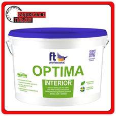 FTP Optima Interior глубокоматовая краска для потолка и стен, 10 л