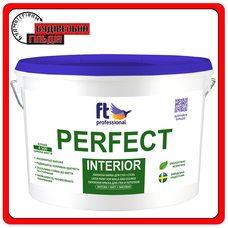 FTP Perfect Interior Глубокоматовая краска для потолка и стен, 10 л