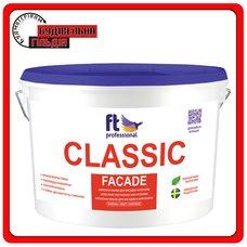 FTP Classic Facade универсальная латексная краска для фасада и интерьера, 10 л