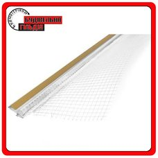 Masterplast Thermomaster W-Prof профиль примыкания к оконным проемам с армирующей сеткой, 2,5м