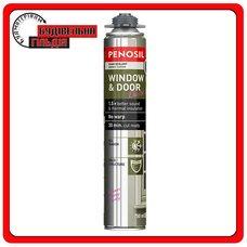 Монтажная пистолетная эластичная пена Penosil Window & Door Elastic, 750 мл