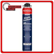 PENOSIL Полиуретановая эластичная монтажная пена Premium Elastic Gunfoam All Season, 745мл