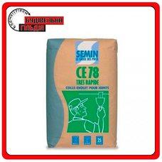Semin CE-78 TRESS RAPIDE Шпаклёвка для заполнения швов ГКЛ, 25 кг
