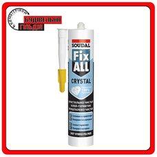 Soudal Fix All crystal Прозрачный клей-герметик, 290мл