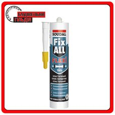 Soudal Fix All Гибридный клей-герметик, цветной, 290мл