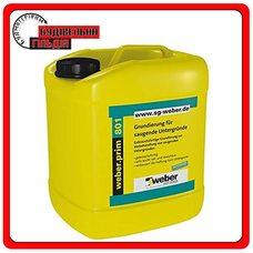 Грунтовочная смесь для оснований с высоким водопоглощением weber.prim 801, 1,012кг