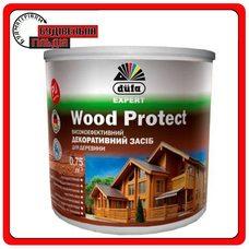 Dufa Высокоэффективное декоративное средство для дерева Wood Protect, 0,75 л