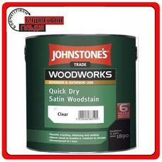 Декоративний антисептик для дерева Quick Dry Satin Woodstain, 2,5л