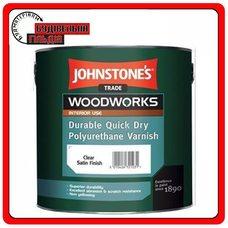Лак панельный водный Quick Dry Polyurethane Varnish Clear Gloss, 5л