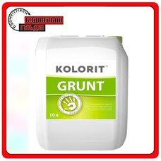 Грунтовка глибокого проникнення Kolorit Grunt, 10 л