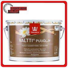 """Масло для защиты наружных деревянных поверхностей Valtti Puuoljy (Валтти), базис """"ЕC"""", 0,9 л"""