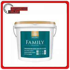 "Матовая латексная краска Family (Interior Premium 3), базис ""A"", 9 л"