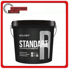 """Водно-дисперсионная краска Standart R (Facade Relief), базис """"LAP"""", 9 л"""