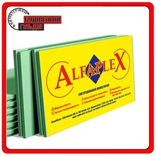 Альфаплекс экструдированный пенополистирол 1200Х550Х20 ММ (0,66 м2 / 1 шт)