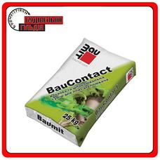 Baumit Bau Contact смесь для приклеивания и защиты утеплителя ППС и МВ плит 25 кг
