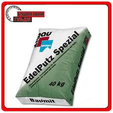 """Edelputz Spezial White мінеральна штукатурка 1,5K """"баранчик"""" (зерно 1,5 мм), 25кг"""