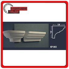 Карниз для фасада FASTROCK КР-003, 1 шт. (2 метра)
