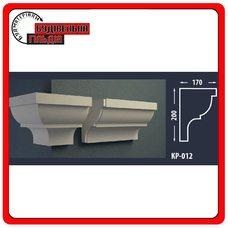 Карниз для фасада FASTROCK КР-012, 1 шт. (2 метра)