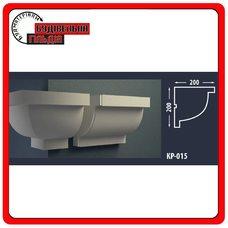 Карниз для фасада FASTROCK КР-015, 1 шт. (2 метра)