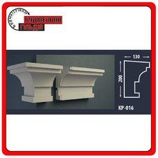 Карниз для фасада FASTROCK КР-016, 1 шт. (2 метра)