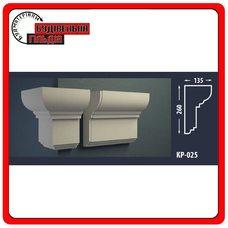 Карниз для фасада FASTROCK КР-025, 1 шт. (2 метра)
