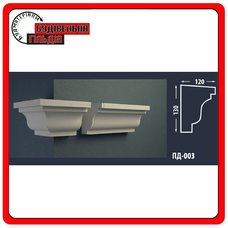 Подоконник для фасада FASTROCK ПД-003, 1 шт. (2 метра)