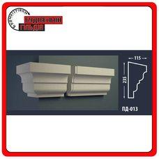 Подоконник для фасада FASTROCK ПД-013, 1 шт. (2 метра)