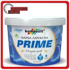 Краска интерьерная латексная PRIME, 9 кг