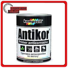 Грунтовка антикорозійна ANTIKOR, Світло сіра, 15 кг