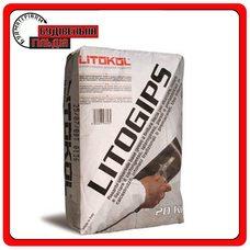 Белая универсальная гипсовая шпаклевка Litogips, 20 кг