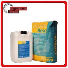 Цементная двухкомпонентная гидроизоляция Coverflex (A+B), 10 кг