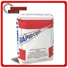 Гидравлическая вяжущая смесь быстрого схватывания Rapidcem, 25 кг