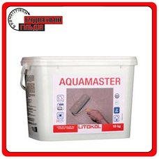 Гидроизоляция для бассейнов готовая к применению Aquamaster, 10 кг