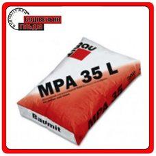 MPA-35L цементно-известковая штукатурная смесь на основе перлита 25 кг