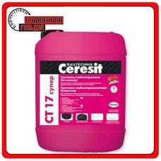 Ceresit СТ 17 Супер Глубокопроникающая грунтовка бесцветная, 10 л
