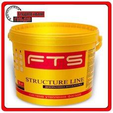 Штукатурка акрилова Structure Line FTS, короїд 2,0 мм, 25 кг