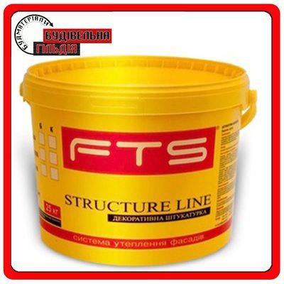 Штукатурка акрилова Structure Line FTS, короїд 2,5 мм, 25 кг