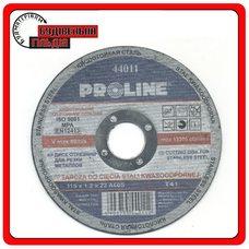 Proline Круг шліфувальний по металу 115х6х22 мм (вигнутий профіль)