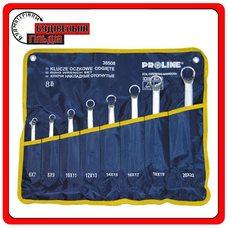 Proline Набор накидных ключей 12 предмета, 6х7 - 30x32 мм