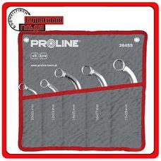 """Proline Набор накидных ключей тип """"С"""" 5 предметов, 10x11 - 17x19"""